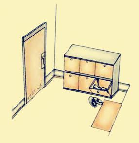 (19)玄关处摆放鞋柜的学问